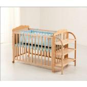 Дитяче ліжечко Geoby (Goodbaby) LMY624 колір H453 - голубий