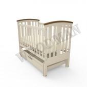 Дитяче деревяне ліжечко Woodman Mia