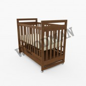 Дитяче деревяне ліжко Woodman Vito