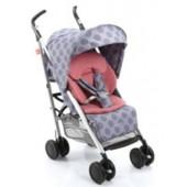 Візок прогулянковий GB D021 колір BD3 - голубий з рожевим в кружечки